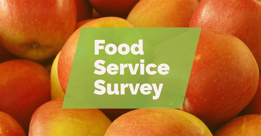 Please take this Food Service Feedback Survey