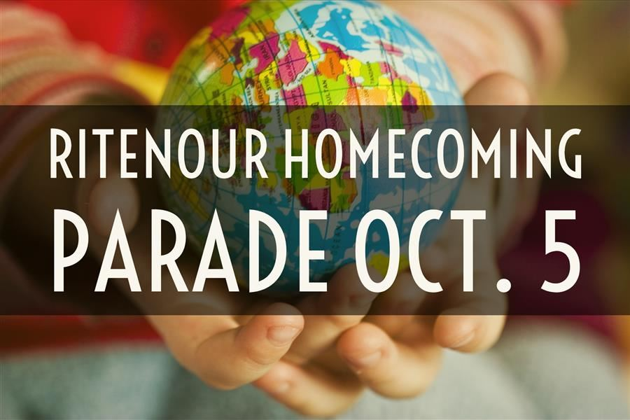 Join Us for the Homecoming Parade Oct. 5