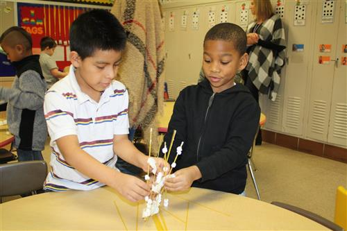 Buder kindergarten students participate in STEM Olympics