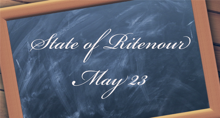 Superintendent Presents State of Ritenour May 23