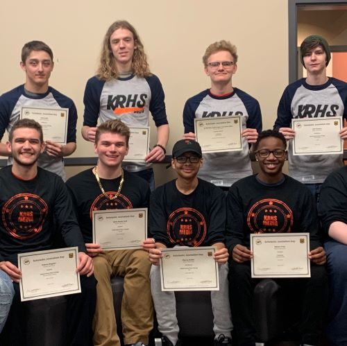 Ritenour High School Media Students Earn 23 State Awards