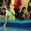 Ritenour's Engineering Students Cap E-Week with Boat Races and Zip Lines