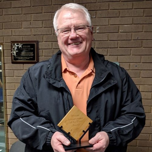 RHS Activities Director Named Administrator of the Year by MSHSAA Eastern District Speech & Debate Association