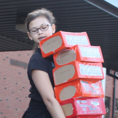 Ritenour Schools Collects 12,407 Food Items for Families in Need