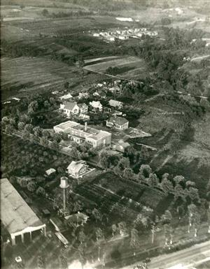 Charles Lindbergh aerial photo