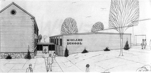 Midland School sketch