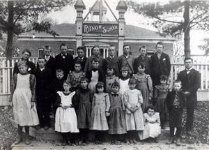 """Ritnor School"" early photo"