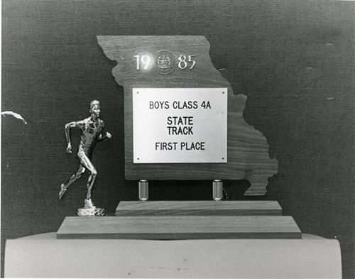 Boys State Track First Place 1985