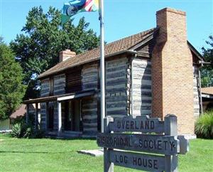 Overland Historical Society Log House